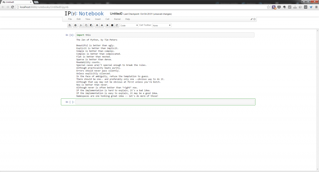 Instalar Python - Captura pantalla IPython capture this